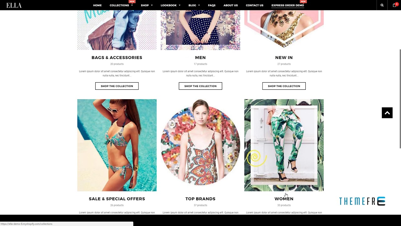 Ella - Responsive Shopify Template (Sections Ready) TFx dowload