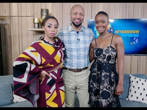 Khanyi Mbau and Phat Joe | Afternoon Express | 5 August 2016