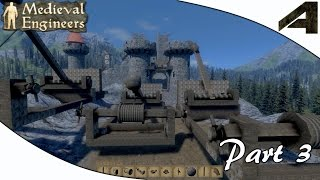 """Medieval Engineers Gameplay - Part 3 - """"how To Make A Catapult"""""""