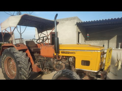 Hmt 5911 Di Tractor For Sale | Tractor For Sale In Punjab | Second Hand Tractor