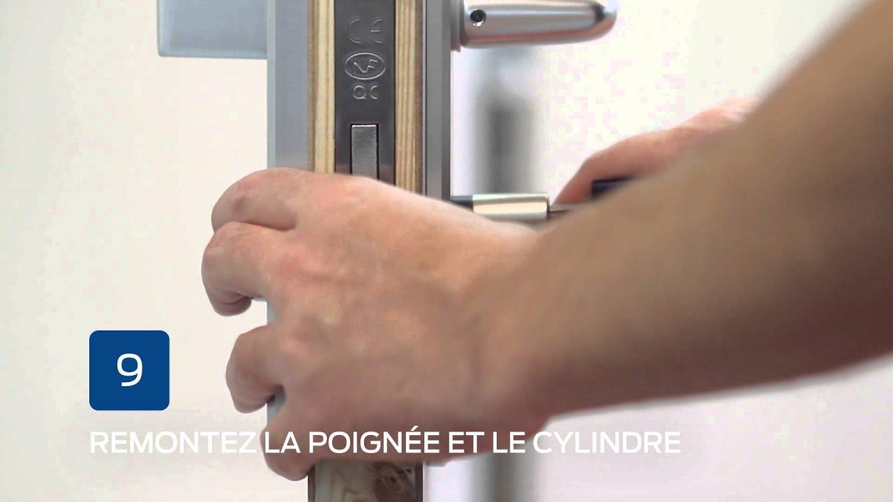 Comment Installer Une Serrure à Encastrer Guide Bricard YouTube - Changer serrure porte chambre