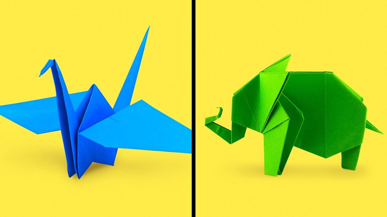 18 Easy To Make Origami Paper Diys