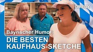 B-Comedy: Die besten Sketche im Einkaufszentrum, Lustiges im bayerischer Dialekt