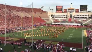 USC vs Utah - USC Trojan Marching Band plays Conquest, 10/24/2015