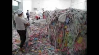 Оборудование для переработки ветоши(Линия для переработки отходов текстильного производства, ветоши. waste cotton recycle machine www.mirro.com.ua., 2011-05-27T07:34:11.000Z)
