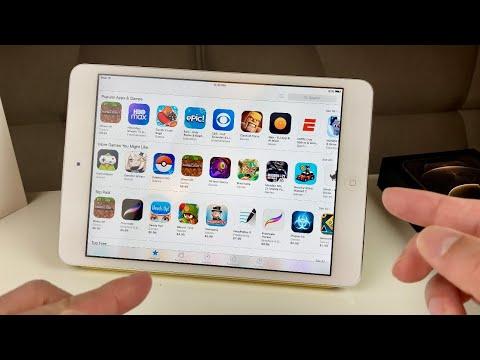 How to Download Apps on Old iPad (iPad Mini / iPad 1, 2, 3, 4 / iPad Air)