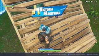 My first win with the war paint skin /fortnite battle royale (Ps4)