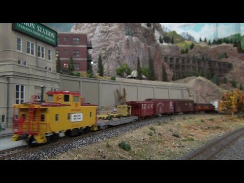 Running Trains on the Evergreen