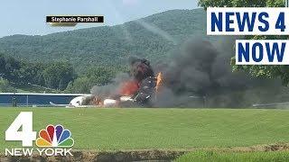 NASCAR Superstar Dale Earnhardt Jr., Family Survive Plane Crash | News 4 Now