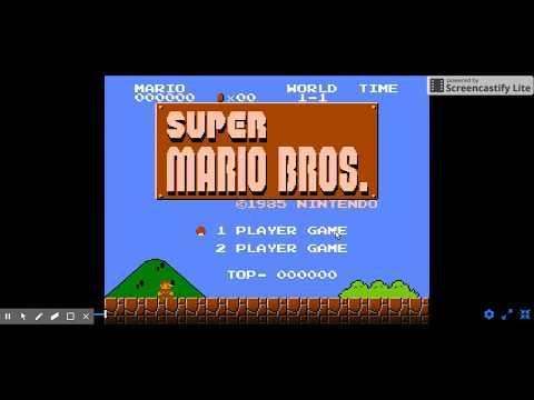 Play Super Mario Bros  on NES - Emulator Online - YouTube
