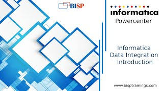 Informatica and Data Integration Intro