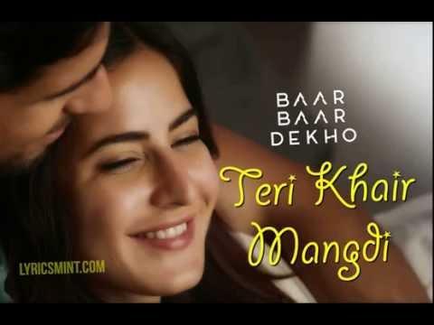 Teri Khair Mangdi Full Song Ringtone From Bar Bar Dekho Ft  Bilal Saeed