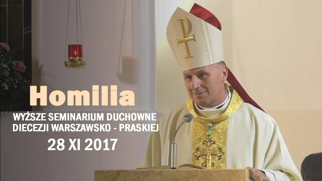 Bp Marek Solarczyk: Bądźcie świadkami Chrystusa (homilia 28 XI 2017 r.)