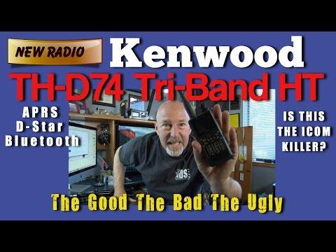 First Impressions Of Kenwood TH-D74 Tri-band, APRS, D-star Radio - K6UDA Radio Episode 30