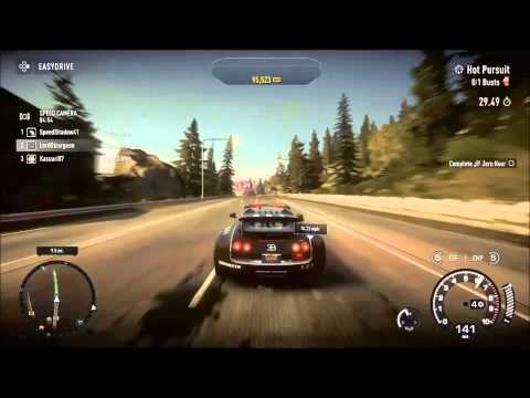 need for speed rivals playstation 4 bugatti veyron super sport cop game. Black Bedroom Furniture Sets. Home Design Ideas