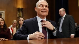 Fossil Fuel Funded Anti-EPA Crusader Approved To Head The EPA