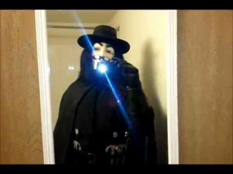 V For Vendetta Rubies Grand Heritage Costume Review Youtube