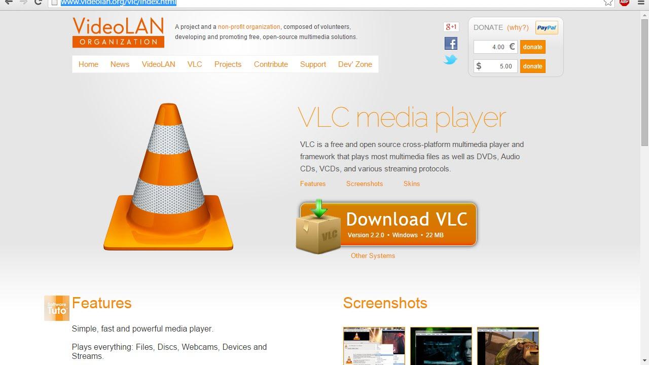 2.2.0 TÉLÉCHARGER VLC