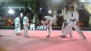 Taekwondo Kick's Practice My Student's In Suadia Arabia By Coach Shakeel