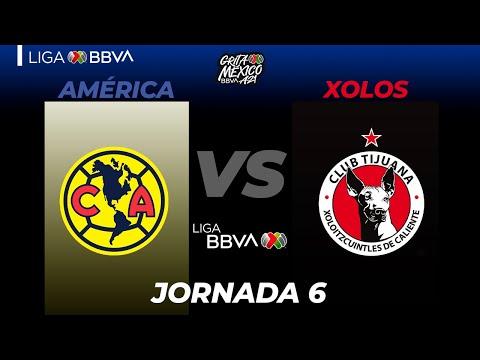 Club America Club Tijuana Goals And Highlights