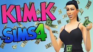 Sims 4 KIM KARDASHIAN? Celebrities In The Sims 4 (Sims 4 Funny Moments) #10