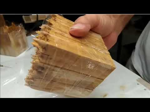 DIY wood Epoxy Project Home Decor Lamp Resin Light LED lighting Amazing woodworking