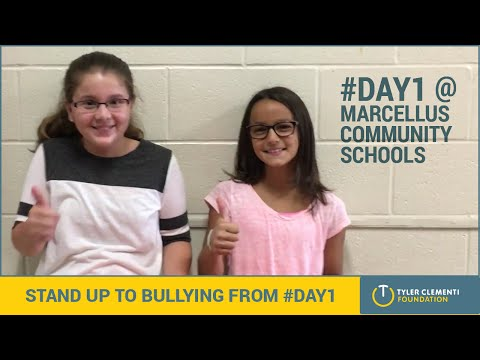 Two Marcellus Elementary School Students Share Their #Day1 Experience