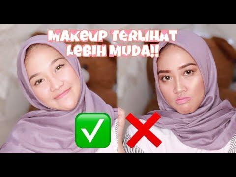 TIPS AND TRICK MAKEUP TERLIHAT LEBIH MUDA - Wellisna Merduani