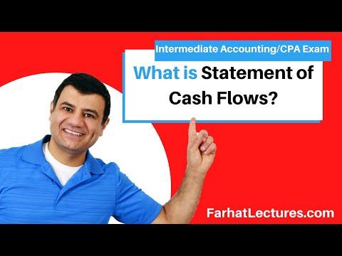 Statement Of Cash Flows   Intermediate Accounting   CPA Exam FAR