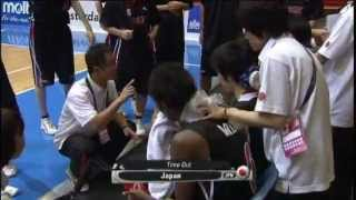 U-17女子バスケ世界選手権 準決勝 スペインvs日本