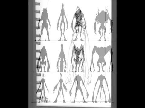 Cloverfield monster early designs (100% real)