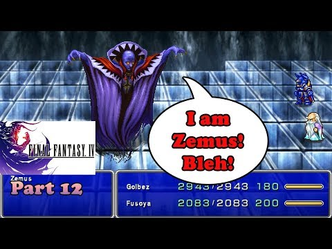 The FF Journey: Final Fantasy IV part 12 - Time To Kill Zemus