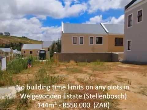 Plots for sale welgevonden Stellenbosch