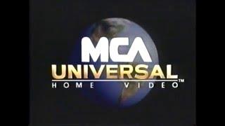 MCA Universal Home Video (1996) Company Logo (VHS Capture)