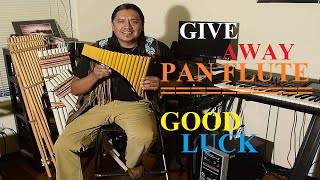 WIN THIS PAN FLUTE INSTRUMENT
