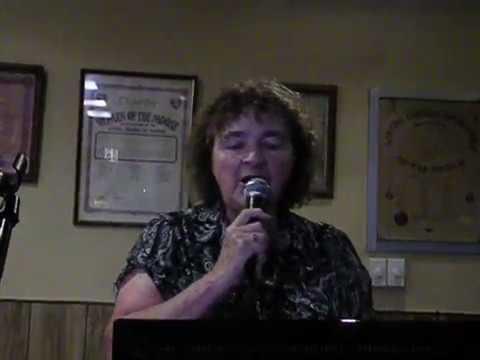 Marion Gonzales;  Make The World Go Away, karaoke
