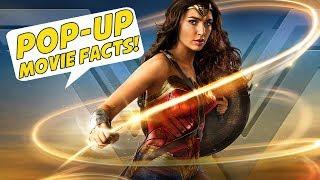 WONDER WOMAN - Pop-Up Movie Facts (2017) Gal Gadot, Chris Pine, Patty Jenkins DCEU Superhero Film