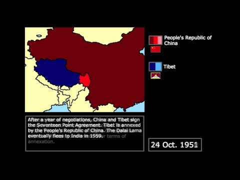 [Wars] The Chinese Invasion of Tibet (1950): Every Day