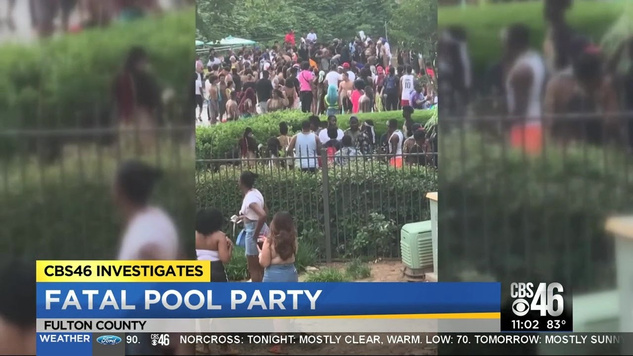 CBS46 gets answers about chaotic pool party where a man died