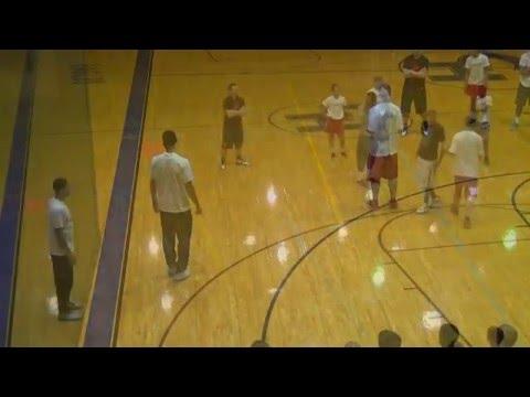 Slide Corner 3 Shooting Drill With Danny Green - San Antonio Basketball Training