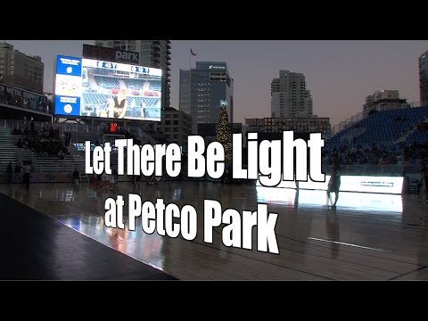 Let There be Lights at Petco Park, Bill Walton Basketball Festival, 12/1/15