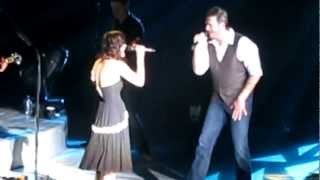 Blake Shelton Get's Pranked By Production Manager On Last Stop Of Tour.  DUET with Dia Frampton