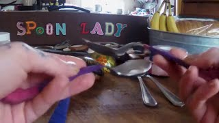 How to Play Spoons 2 - types of musical spoons (Spoon Lady)