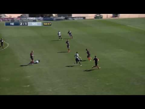 Agudelo goal out of midfield