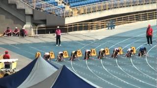 101年全國大專院校田徑公開賽男甲100公尺決賽