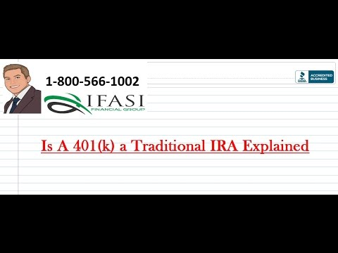 is-a-401k-a-traditional-ira-explained
