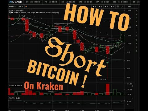 How To Short Bitcoin - How To Short Bitcoin On Kraken - How To Use Kraken - Crypto Margin Trading