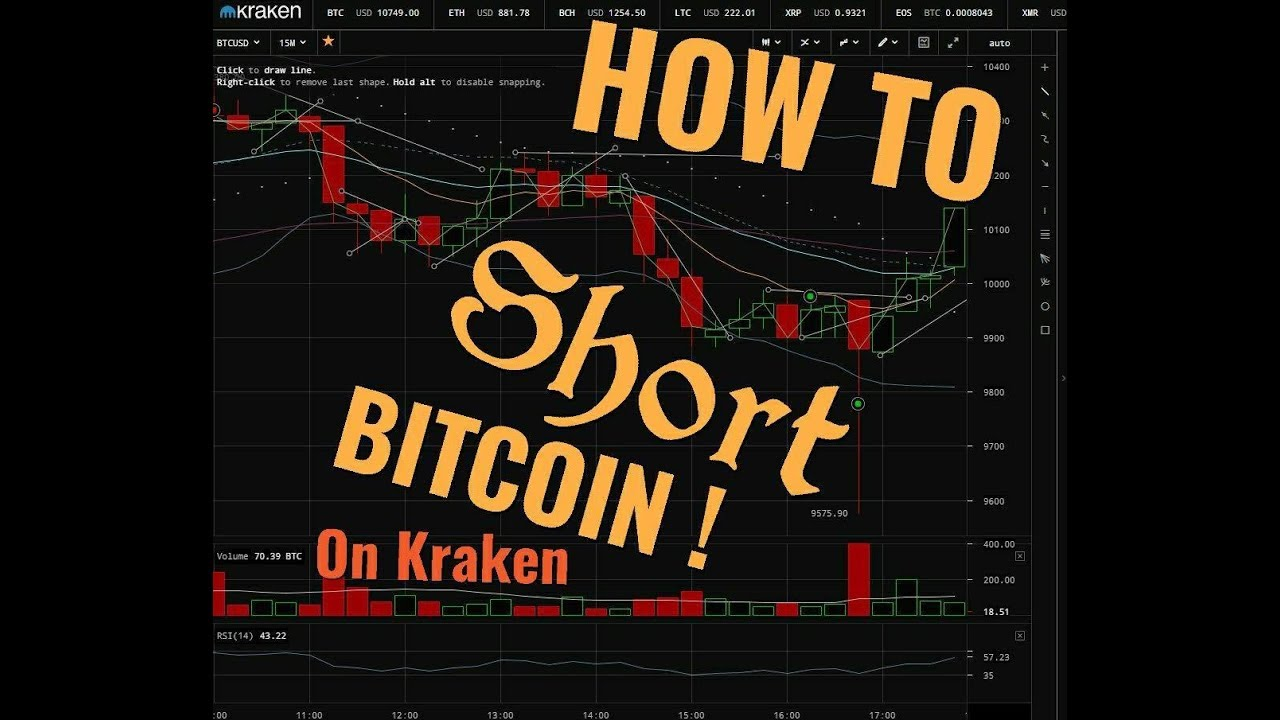 how to short cryptocurrency on kraken