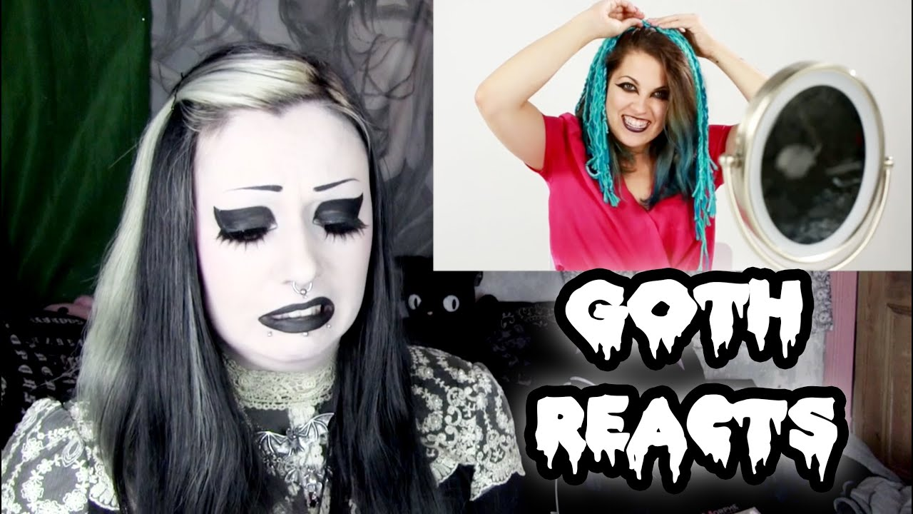 Goth Reacts To Women Try Goth Fashion For A Week | Toxic ...