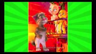 Кот Том и Кошка Анджела   смешные кошки, улыбнись! Мультик для детей, прикол
